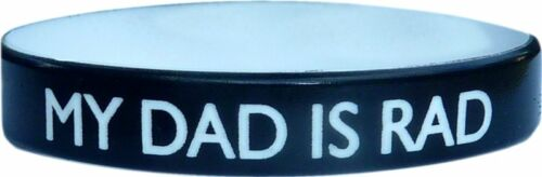 1 COLOR TEXT CUSTOM SILICONE WRISTBAND FAST SHIPPING your design on band