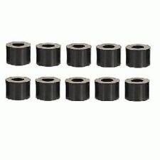 Distanzhülsen für M6 Schrauben, Länge 10mm, Kunststoff schwarz, 10 Stk.