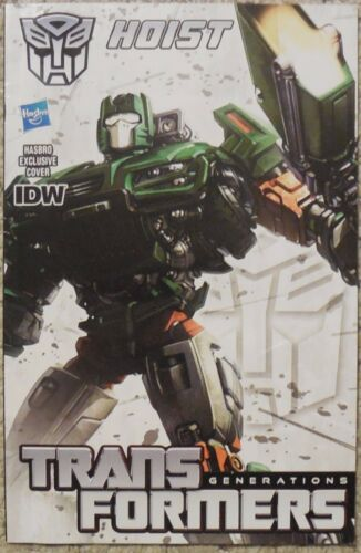 Transformers Thrilling 30 Generations Hoist Comic book