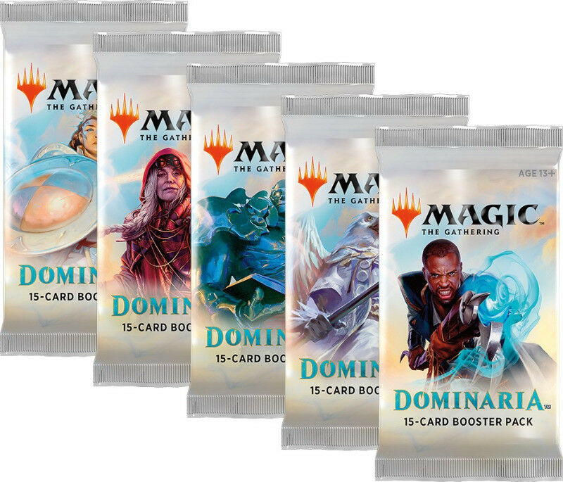 Magic the Gathering TCG: Dominaria Booster Packs (new)