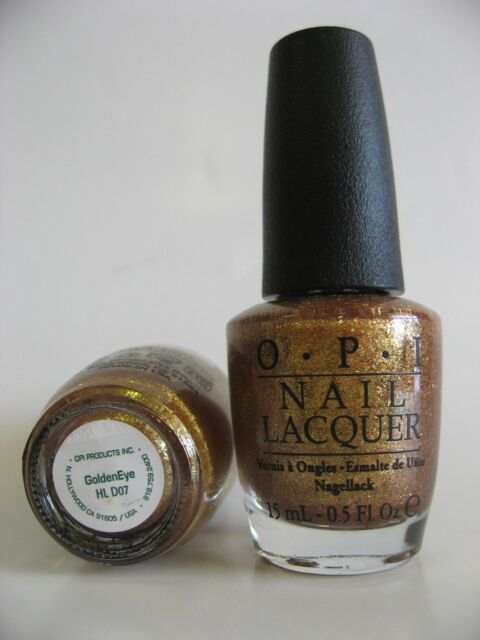 OPI Nail Polish Goldeneye 2012 James Bond Skyfall Collection HL D07 ...
