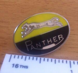 PANTHER Enamel Pin Badge Motorcycle Biker Cafe Racer 59 Rocker Bike