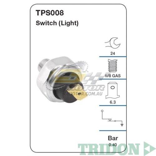 TRIDON OIL PRESSURE FOR Mitsubishi Triton 10//96-03//03 2.8L Diesel SOHC 4M40
