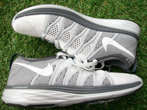 Grey £135 Flyknit 2 p Womens 3 New Trainers In Tone 5 R Size Uk Nike Lunar r 7cBEqwa