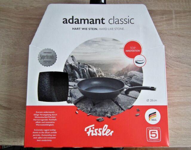 Größen Induktion Spülmaschine Fissler Adamant classic Pfanne kratzfest versch