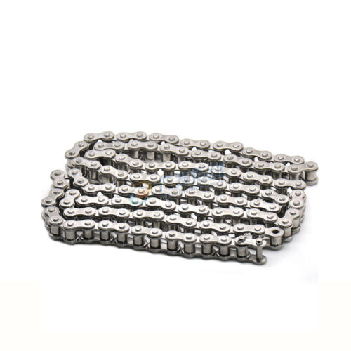 """1.5M 304 Stainless Steel #35  06B-1 Pitch 9.525mm 3//8/"""" Single Row Roller Chain"""