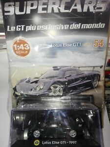 LOTUS-ELISE-GT1-1997-SUPERCARS-GT-COLLECTION-1-43-54-DIE-CAST-MOC