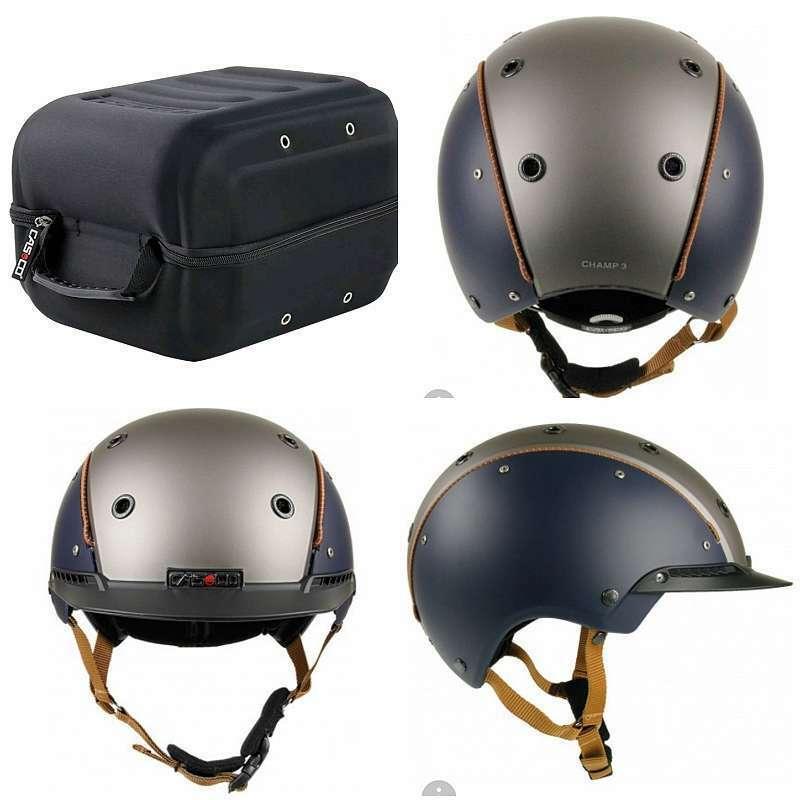 CASCO Champ 3 Blu Antracite MONTALA casco casco di sicurezza