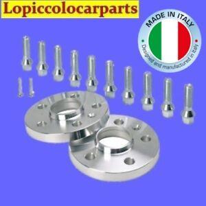 Coppia-Distanziali-Ruota-Tuning-5X112-Centraggio-57-16mm-Con-Bulloni-sferici