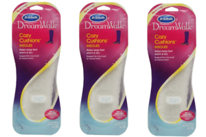 PACK-OF-3-Dr-Scholl-039-s-DreamWalk-Cozy-Cushions-Insoles-for-Women-6-10
