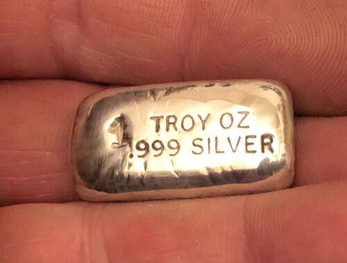 NEW DESIGN 1 Troy Oz Silver Bar