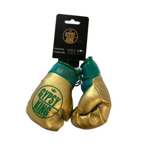 Official Tyson Fury Merchandise Gypsy King Hanging Mini Boxing Gloves