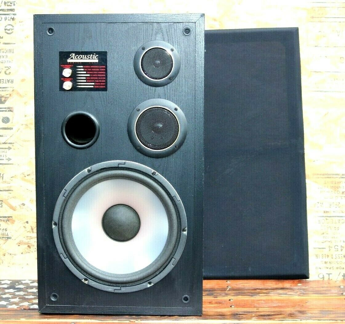Acoustic Studio Monitor 10  Speaker Series 3311  vintage
