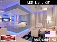 Giant Make Up Mirror Led Light Kit -- Universal Lighting Kit -- Watch Our Video