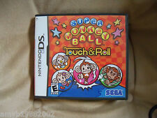 Super Monkey Ball Touch & Roll (Nintendo DS, 2006) EUC