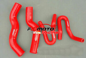 Red-Silicone-Radiator-Hose-For-Holden-Rodeo-RA-3-0-TD-2003-2007-ISUZU-D-MAX-DMAX