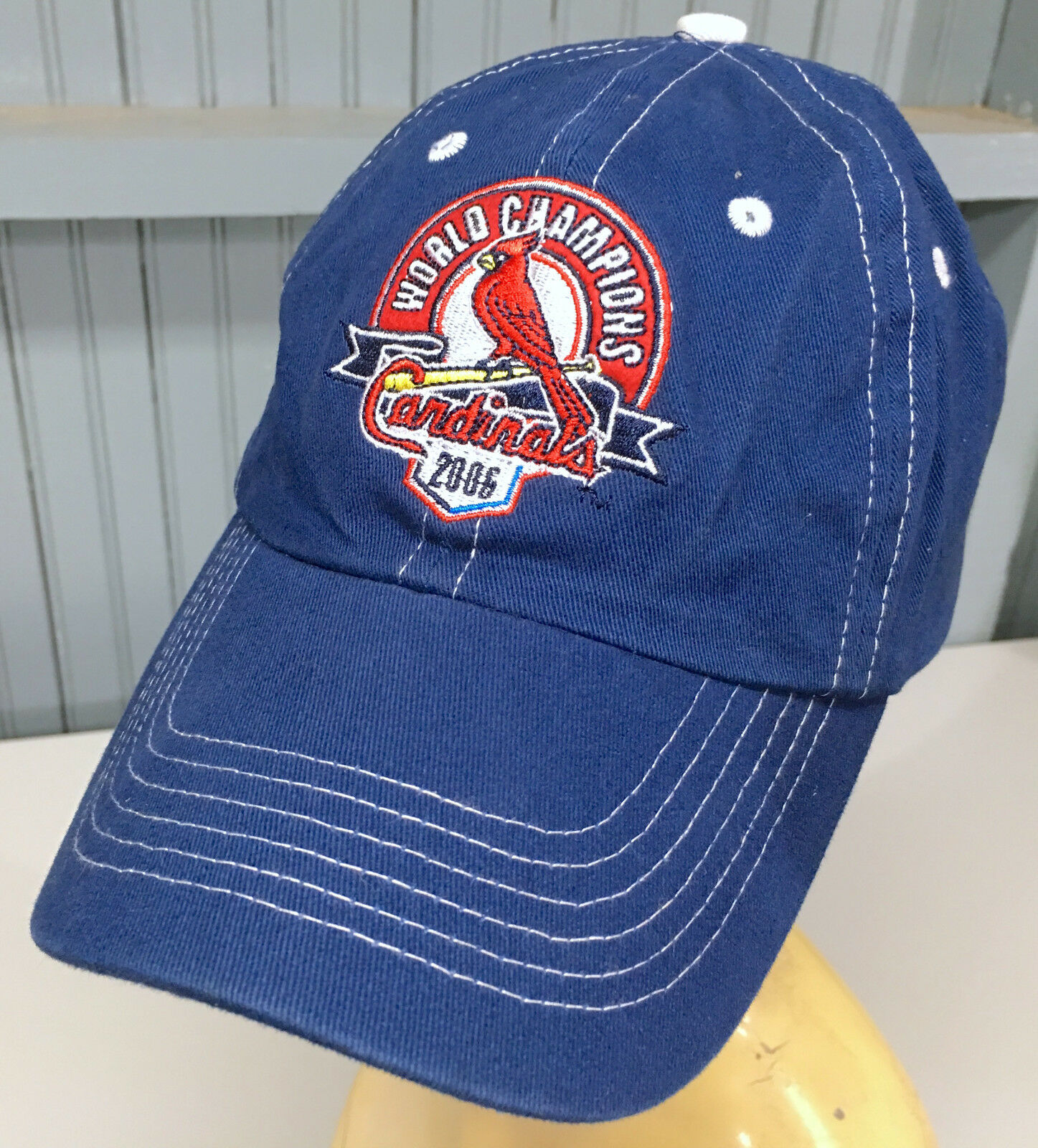 St. 2006 Louis Cardinals Strapback 2006 St. Champs Baseball Cap Hat 15075f
