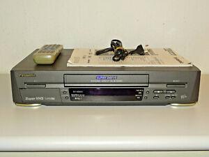 Panasonic NV-HS820 High-End S-VHS ET Videorecorder, FB&BDA, 2 Jahre Garantie