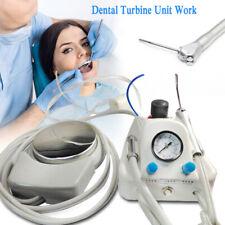Hot 4 Hole Dental Lab Portable Air Turbine Unit Compressor 3 Way Syringe New Us