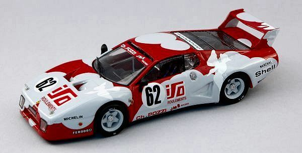 Ferrari 512 Bb  62 26th Lm 1979 eruet  Dini 1 43 modello BEST modelloS