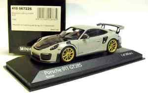 1-43-Minichamps-2018-Porsche-911-991-II-GT2-RS-Craie-Gray-Limited-300-pcs-NOUVEAU