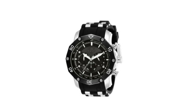 a247c5f41 Invicta Pro Diver Two Tone Gents Watch with Silicone & Stainless Steel Strap