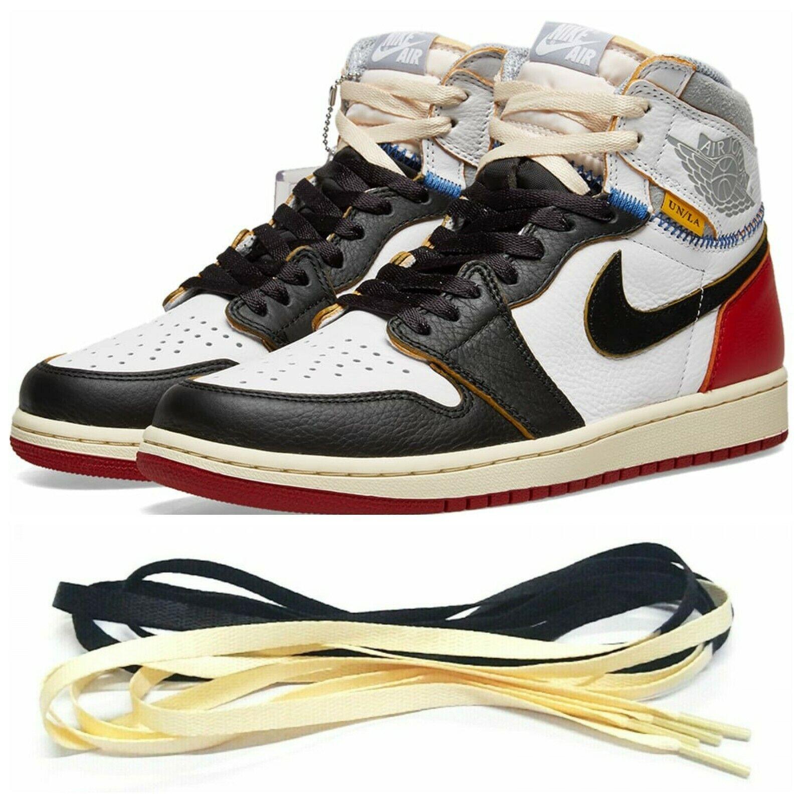 2 Tone Flat Laces For Air Jordan 1