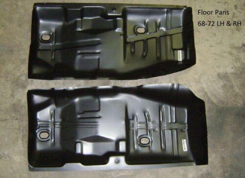 Floor Pan Pair 68-72 Chevelle GTO Cutlass Skylark 68 69 70 71 72 Malibu