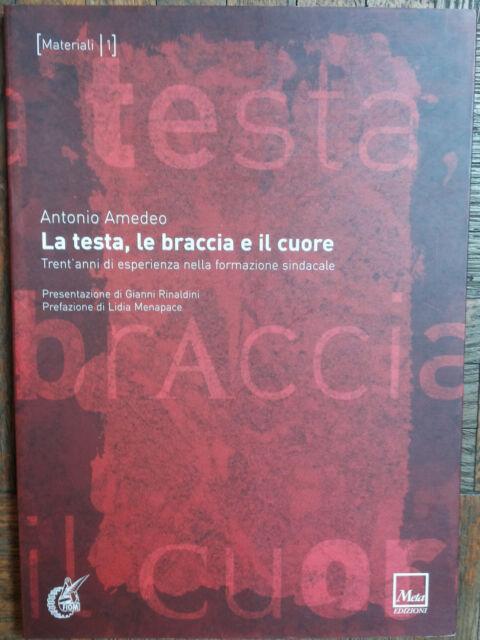 La testa, le braccia e il cuore - Amedeo - Meta Edizioni,2004 - R