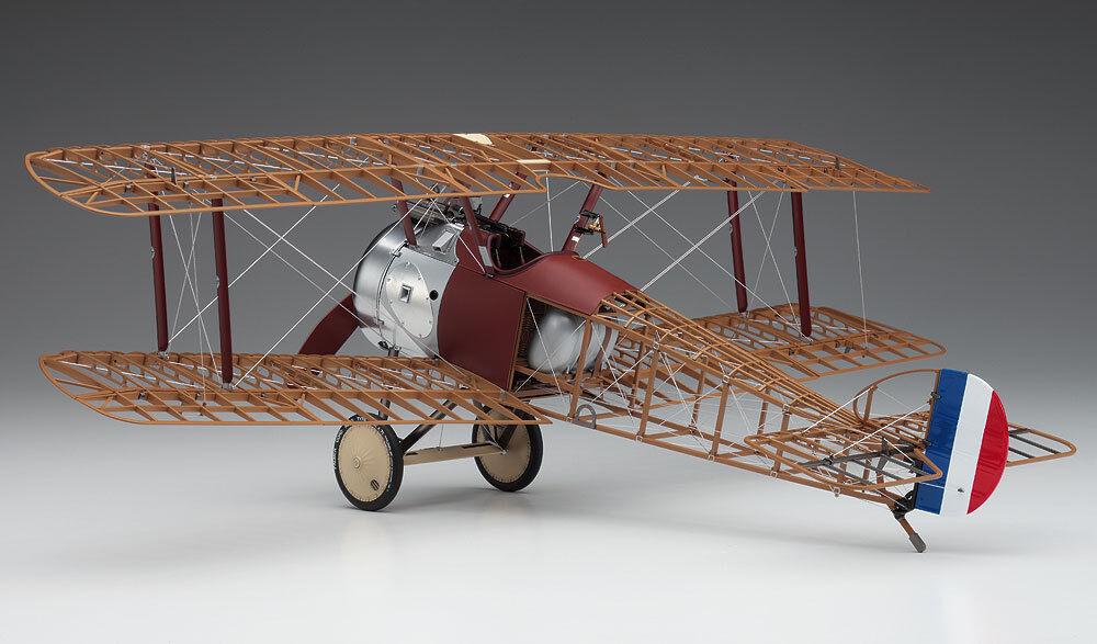 1 16 Hasegawa SOPWITH  CAMEL F1 WWI British Fighter Biplane Museum Model Kit