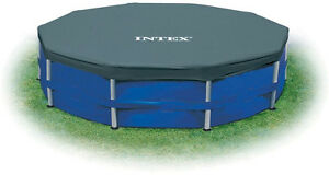 Intex-12-Foot-Round-Frame-Set-Easy-Above-Ground-Swimming-Pool-Debris-Cover