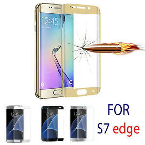 Full-Curved-3D-Tempered-GLASS-Screen-Protector-FOR-Samsung-Galaxy-S7-Edge-GOLD