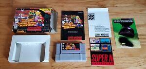 Super Mario RPG: Legend of the Seven Stars Super Nintendo SNES CIB Complete lot!
