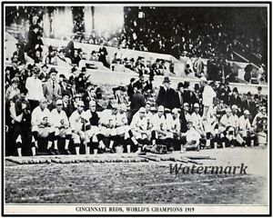ea8658b372ac Image is loading 1919-Cincinnati-Reds-World-Series-Champions-Team-photo-