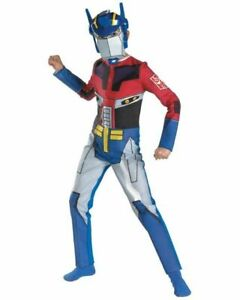 36-95-TRANSFORMERS-OPTIMUS-PRIME-BOYS-CHILD-039-S-JUMPSUIT-COSTUME