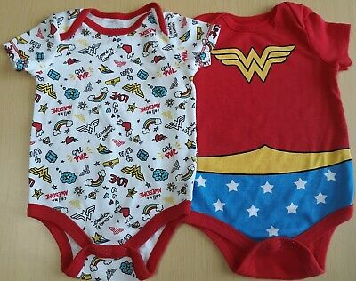 Girls in bodysuits pics Dc Wonder Woman Baby Girls Bodysuits Or Onepiece Size 3 6 Months Pack Of 2 Ebay