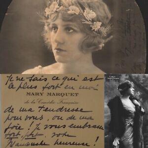 Mary-MARQUET-carte-de-visite-autographe-a-la-comedienne-Berthe-CERNY