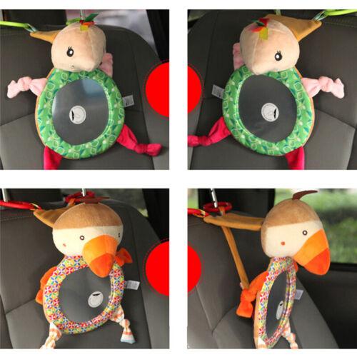 Adjustable Child Kids View Rear Seat Car Safety Back Mirror Headrest Mount LH