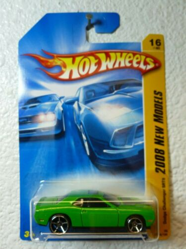 2008 First Editions Hot Wheels DODGE CHALLENGER SRT8 #016 MF Green