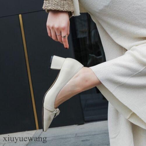 a donna pelle larga punta Tacco largo da in Xq5z0x