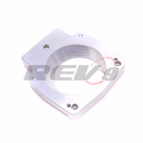 REV9 LS1 LS2 LS6 LSX GM CAMARO GTO 102MM CNC INTAKE THROTTLE BODY+ADAPTER PLATE