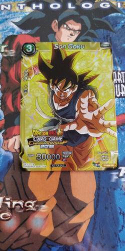 Dragon Ball Super Card Game Son Goku VF P-066 PR