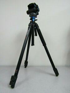 Benro S6 Video Head and Aluminum Flip Lock Legs Kit A2573FS6