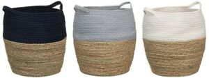 50-Polyester-50-Cotton-Two-Tone-Storage-Basket-Stylish-Addition-To-Your-Home