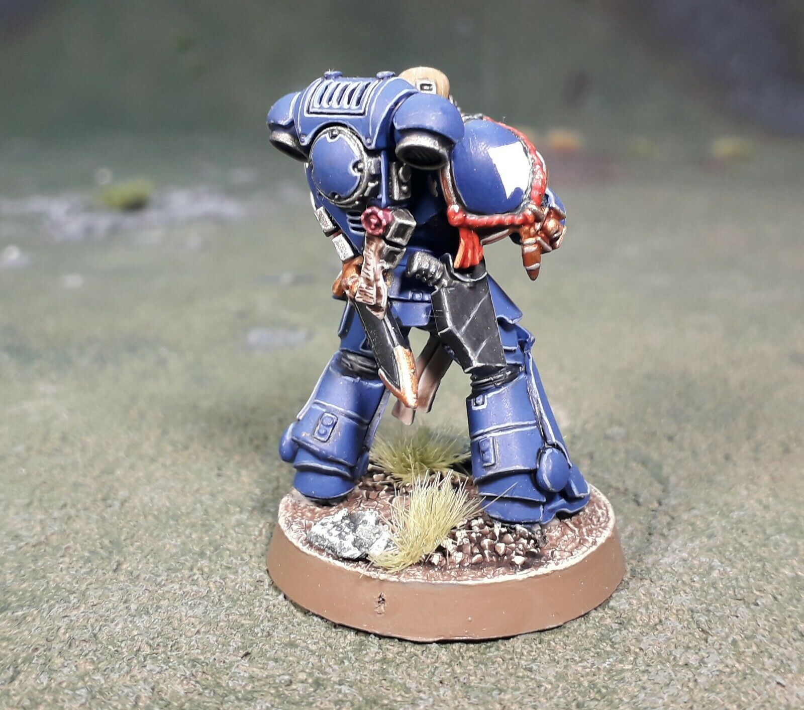 30 Years of Warhammer 40,000 Primaris Intercessor Veteran Sergeant Sergeant Sergeant c5a4c9