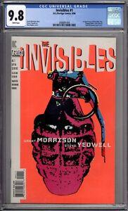 Invisibles-1-CGC-Graded-9-8-NM-MT-Morrison-DC-Comics-1994