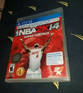 Details about NBA 2K14 - Super Fan Pack PS3 PS4 *NEW*