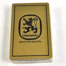 Löwenbräu Bier Spielkarten Karten USA Kartenspiel