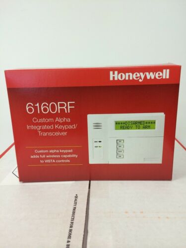 6160RF Keypad with Built In Tranceiver Honeywell Vista 20P Jack /& Cord Siren