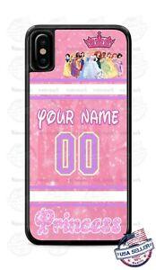 27c822ca2a0 La foto se está cargando Disney-Princesa-personalizar -diseno-telefono-caso-para-iPHONE-